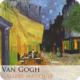 Vincent Van Gogh Gallery and Quiz