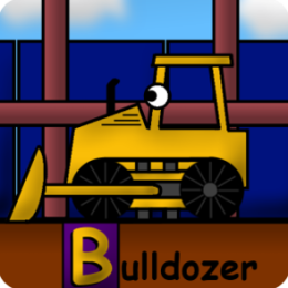 Kids Trucks: Construction Alphabet