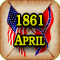 American Civil War Gazette - Extra - 1861 04 - April