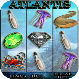Atlantis - Vegas Slot Machine
