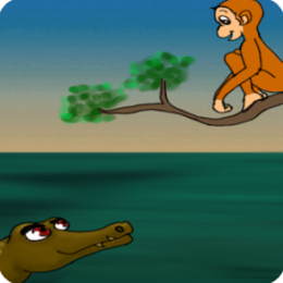 Mr Monkey and Sir Crocodile