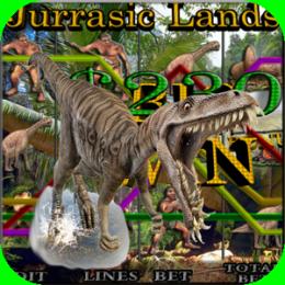 Jurassic Lands - Vegas Video Slot Machine