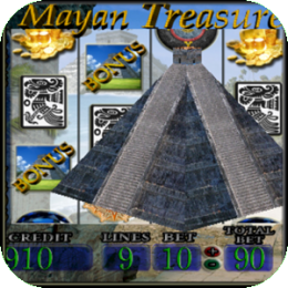 Mayan Treasure - Vegas 5 Reel Slot Machine