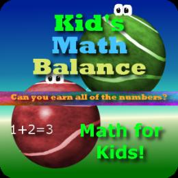 Kid's Math Balance HD