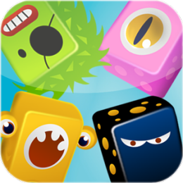 Funny Monsters Exploding Puzzle Game