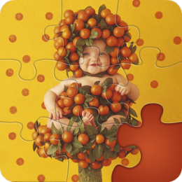 Magic Puzzles: Anne Geddes -