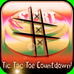 Tic Tac Toe Countdown