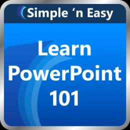 Learn PowerPoint 101 by WAGmob
