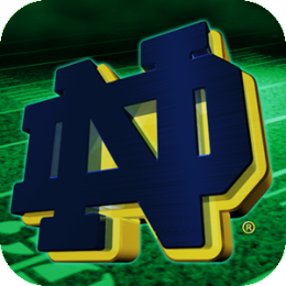 Notre Dame Fighting Irish Revolving Wallpaper