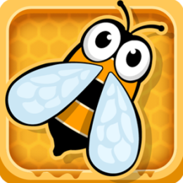 Bee Control - Draw Flight Paths to Collect Honey!