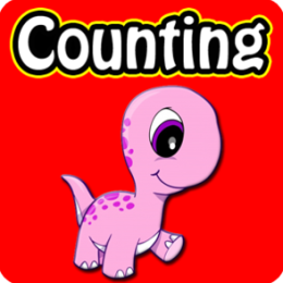 Dinosaurs Counting Games