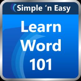 Learn Word 101 by WAGmob