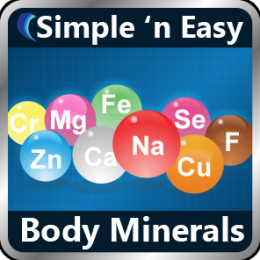 Body Minerals by WAGmob