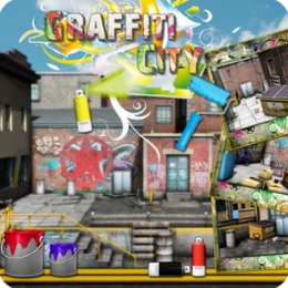 Graffiti City - Dynamic Hidden Objects Game