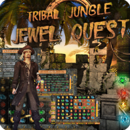 Tribal Jungle - Jewel Quest - Match 3 Three Game