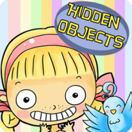 Hidden Objects - Emma and The Blue Bird