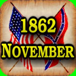 American Civil War Gazette - Extra - 1862 11 November