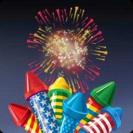 Fireworks Finger Fun