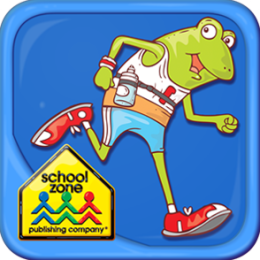 Jog, Frog, Jog -A Start to Read! UnderCover Book from School Zone