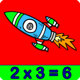 Adventures Outer Space Math - Multiplication Games