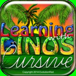 Cursive Writing: Kids/Adult Dinosaur Cursive Writing (Penmanship)