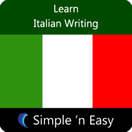 Learn Italian Writing by WAGmob