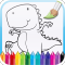 Kids Coloring Book: Dinosaurs!