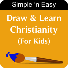 Draw & Learn Christianity (For Kids) by WAGmob
