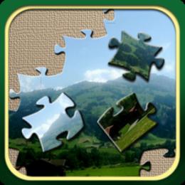Swiss Alps Jigsaw