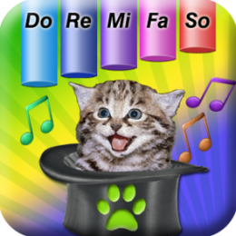 Magic Cat Music Teacher - Piano Chimes