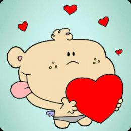 AppDads Coloring Valentine