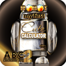 RoboCalc HD+ My First Cute Talking Robot Calculator - Best Halloween Gift Idea (NOOK HD+ Compatible)