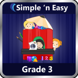 Complete Grade 3 :(Science, English, Math) by WAGmob
