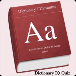 Dictionary IQ Quiz