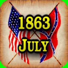 American Civil War Gazette - Extra - 1863 07 - July