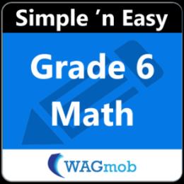 Grade 6 Math by WAGmob