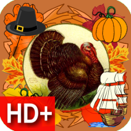 Thanksgiving Classic Live HD+ Wallpaper & Clocks