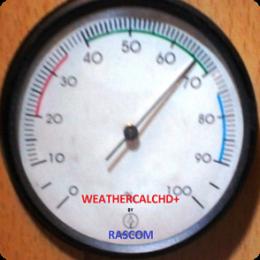 WeatherCalcHD+