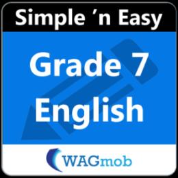 Grade 7 English by WAGmob