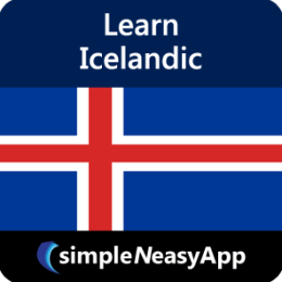 Learn Icelandic - simpleNeasyApp by WAGmob