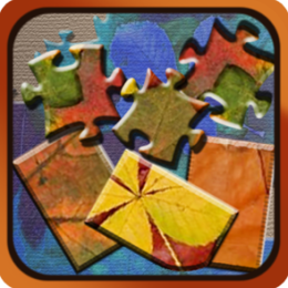 Pattern and Textures Jigsaw and Slider