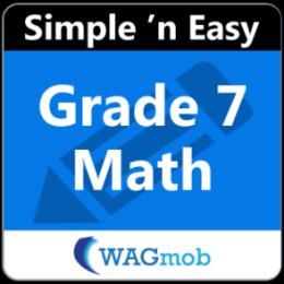 Grade 7 Math by WAGmob