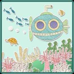 Papercraft Ocean Live Wallpaper
