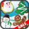 Christmas Cookies Match 3 Christmas Game Kids App