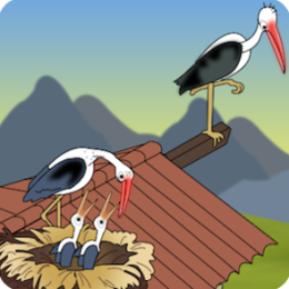 The Stork and the Little Boy