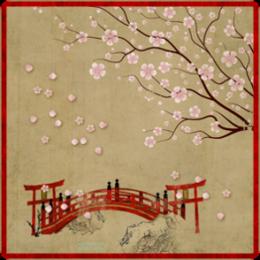 Sakura Bridge Live Wallpaper