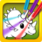 Dino Coloring: Color & Draw