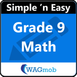 Grade 9 Math by WAGmob