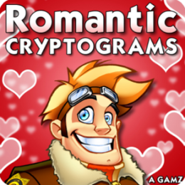 Romantic Cryptograms by Puzzle Baron, Volume 9