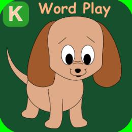 Kindergarten Kids Word Play